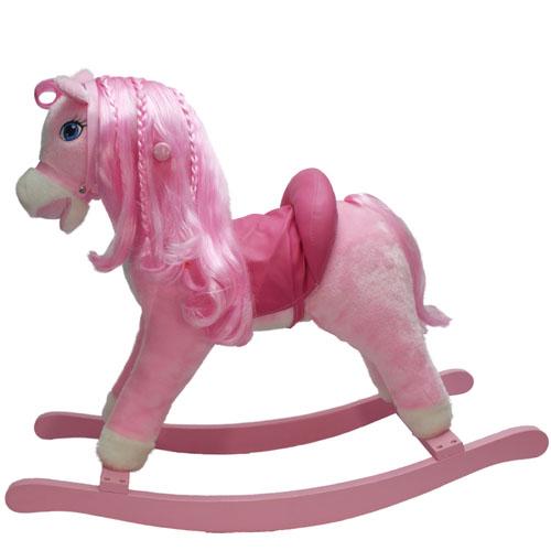 Качалка - Мой пони (розовая, 54 см)