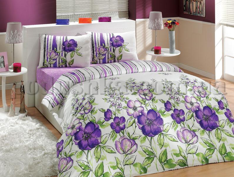 Постельное белье Hobby Jival фиолетовый
