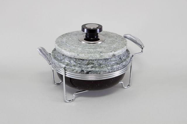 Круглый мармит (нерж сталь) 5761-S