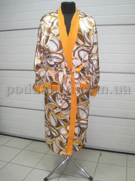 Халат женский длинный Nusa NS-9015-027