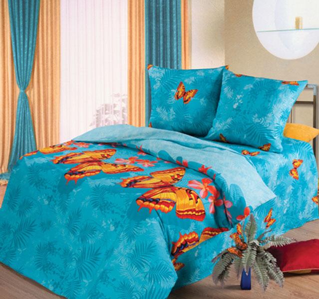 Постельное белье Махаон голубой