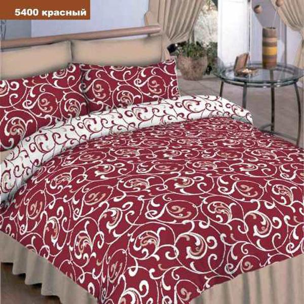 Постельное белье Вилюта 5400 красный