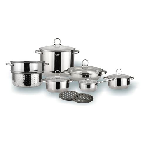 Набор посуды Vitesse VS-1015 (Pansy) 13 предметов