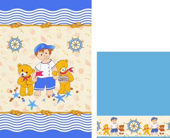 Набор махровых полотенец Юнга