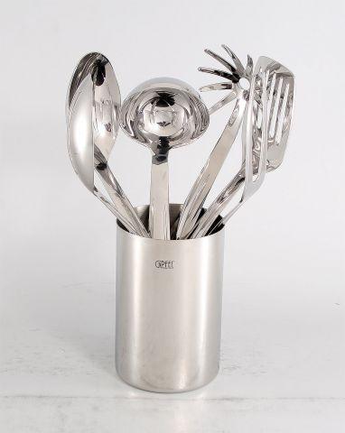 Набор кухонных принадлежностей 6пр (нерж.сталь) 5707