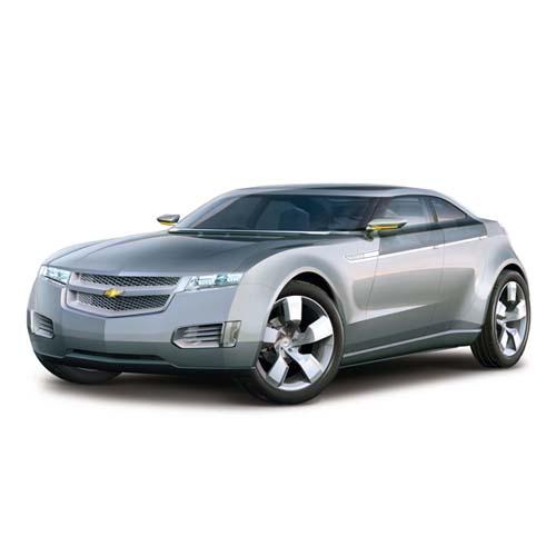 Авто-конструктор - CHEVROLET VOLT CONCEPT, серебристый металлик