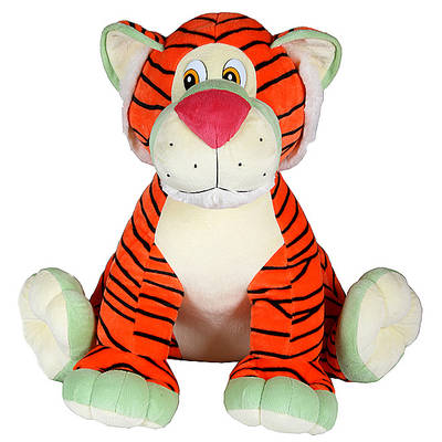 Тигр Лари, сидящий