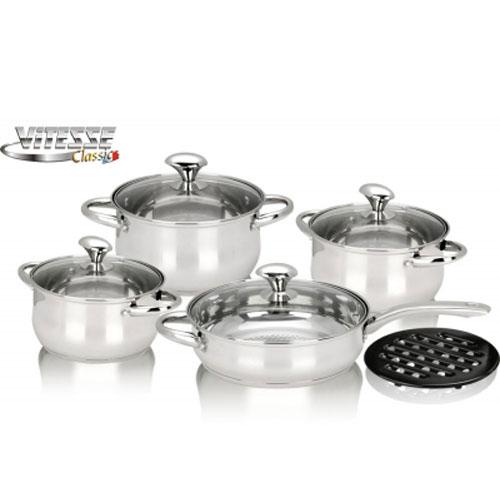 Набор посуды Vitesse VS-7007 9 предметов
