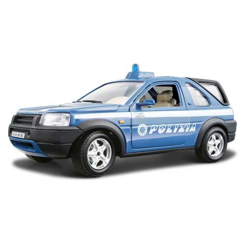 Автомодель - Freelander Polizia (голубой, 1:24)