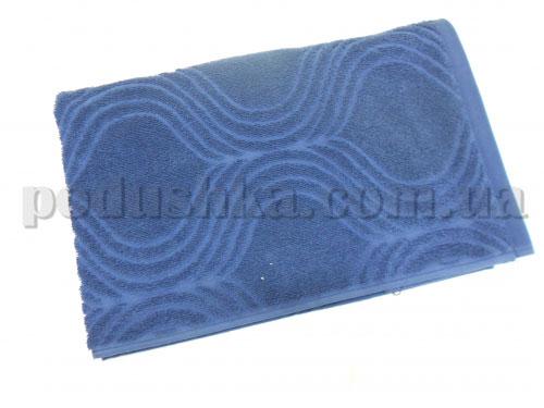Полотенце махровое Belle-Textile Breeze темно-синее