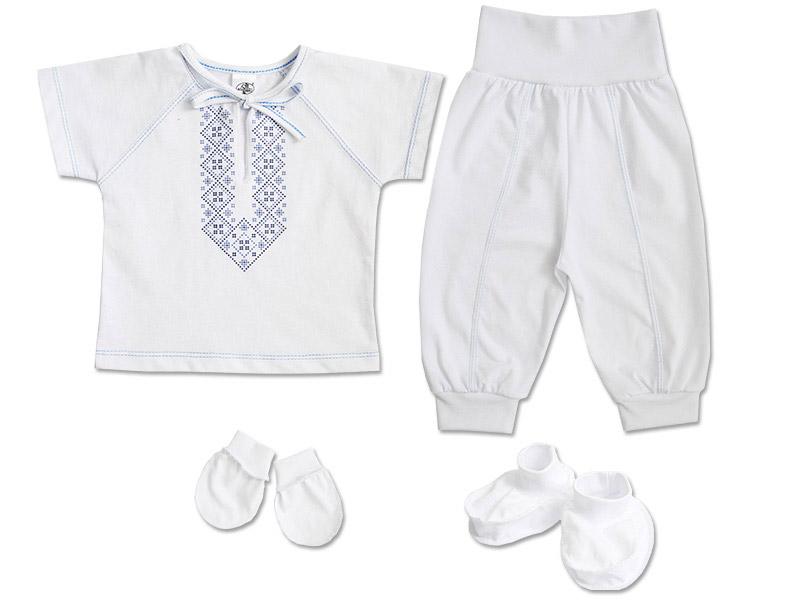 Комплект для мальчиков с вышивкой Фламинго 548 кулир