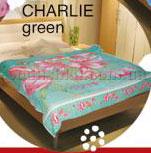Простынь махровая Le Vele Charlie Green 180х230 см  Le Vele