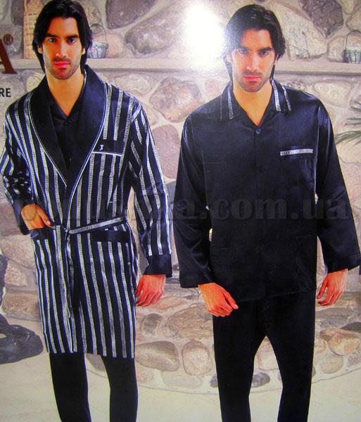 Набор мужской халат и пижама NS-9700-1 Nusa