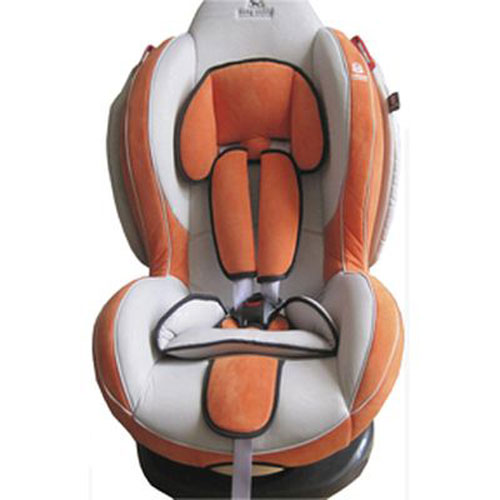 Автокресло Baby Shield Welldon CuddleMe Light Grey/Orange