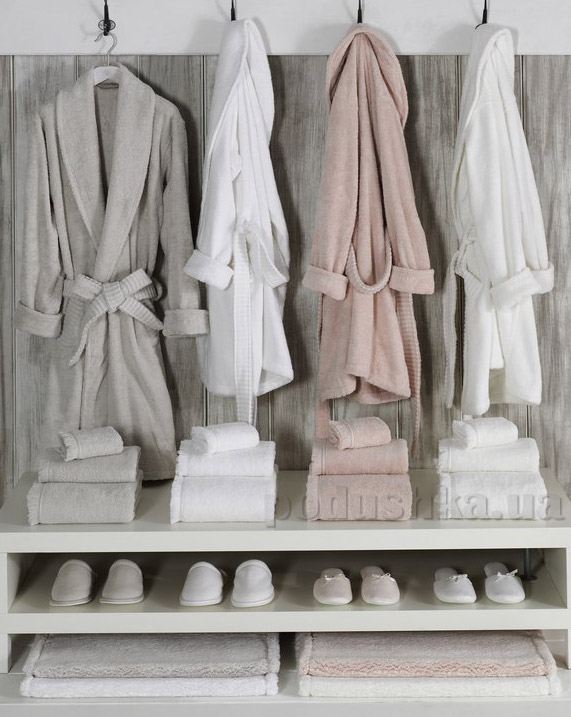 Полотенце махровое Ladinne Solid white