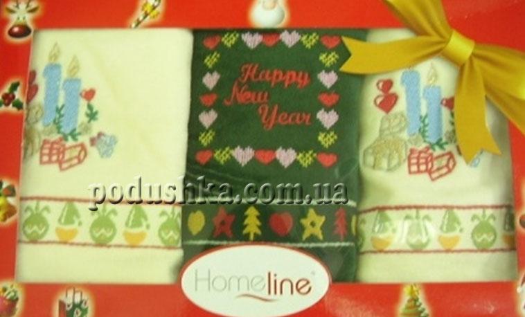 Набор полотенец  КРИСМАС 50*75(3), Home Line