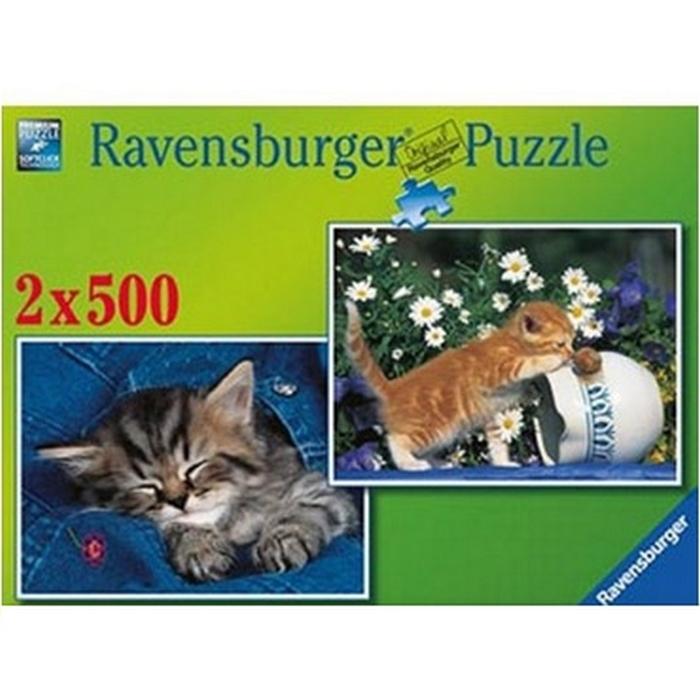 Пазл Прелестные котята Ravensburger 80957-Rb