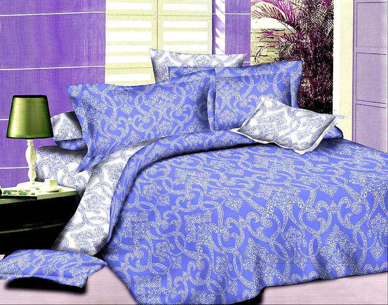 Комплект постельного белья Winter ornaments L-1582-5 SoundSleep поплин