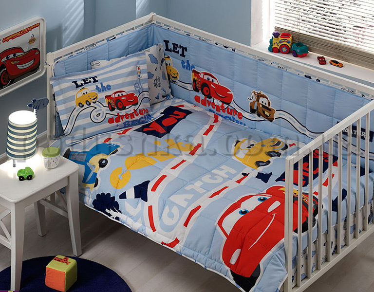 Комплект в кроватку TAC CARS BABY