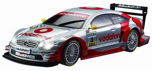 Автомобиль радиоуправляемый - AMG-Mercedes CLK DTM (серебристый, 1:10)