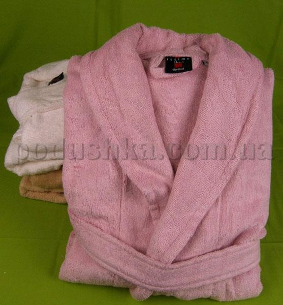 Халат махровый ISSIMO SALYAKA Pink розовый