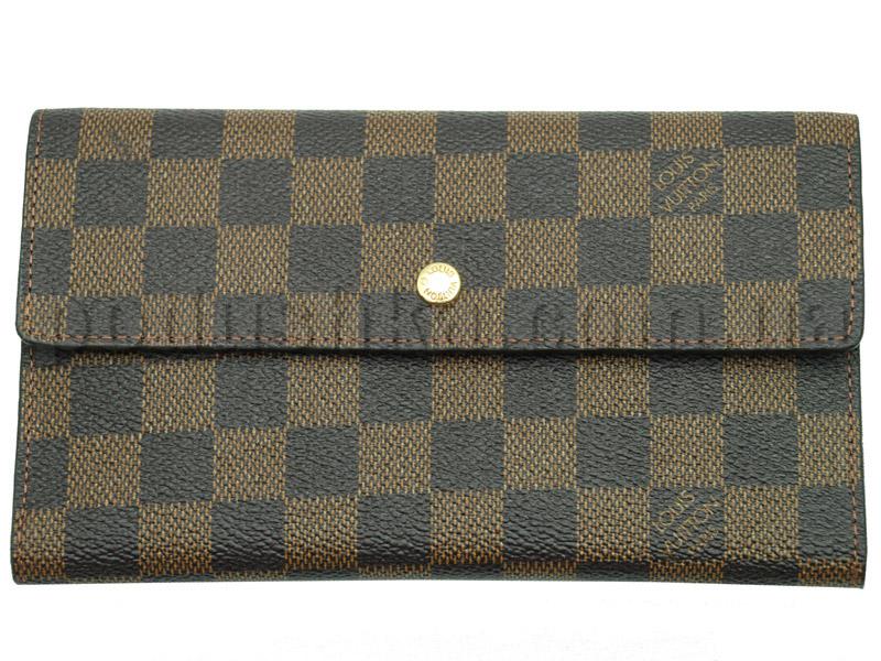 Кошелек кожаный Louis Vuitton 61215