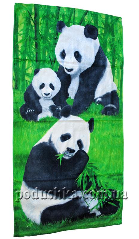 Полотенце пляжное Панда