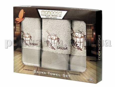 Набор махровых полотенец Mariposa Сауна светлая