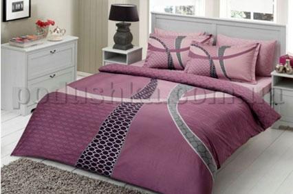 Постельное белье TAC Horizon фиолетовый