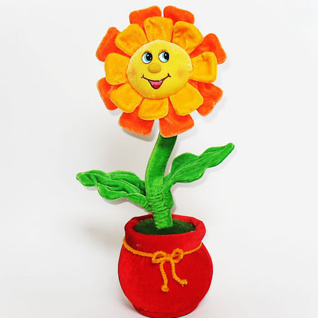 Мягкая игрушка Цветок танцующий