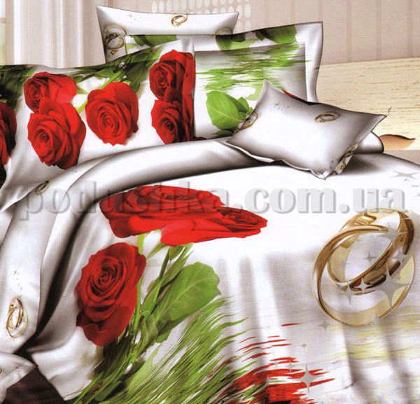 Постельное белье Love You Свадьба