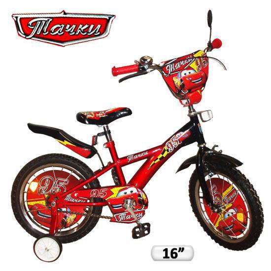 Велосипед двухколесный на 16 дюймов Укрпромресурс 131611