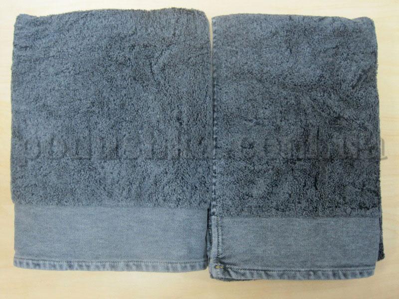 Набор махровых полотенец Mariposa Джинс серый