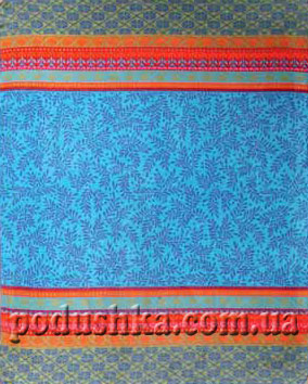 Плед Мальме голубой (orion cotton trend), Bocasa