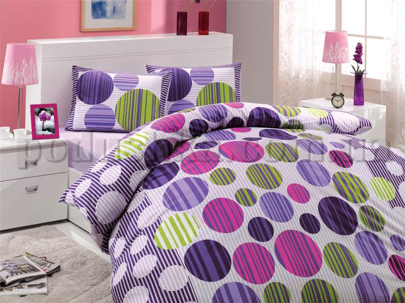 Постельное белье Hobby Bloom фиолетовый