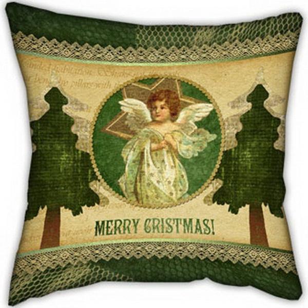 Подушка Merry Cristmas