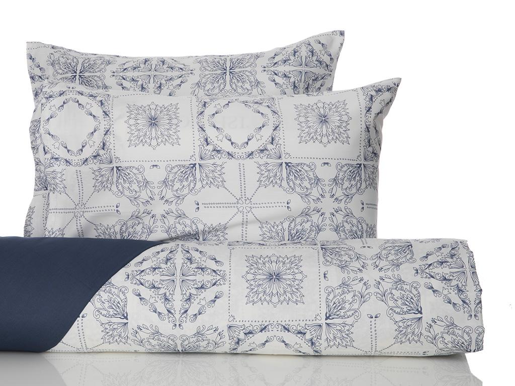 Комплект постельного белья English Home Patch голубой