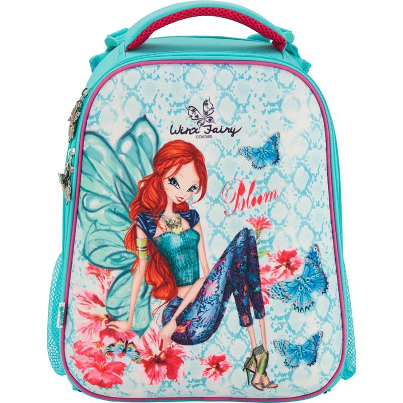 fa04e25c227d Рюкзак школьный каркасный (ранец) 531 Winx fairy couture Kite W17-531M