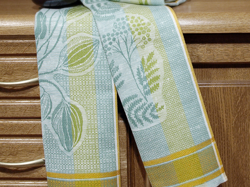 Набор полотенец Травы