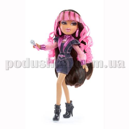Кукла Bratz серии Рок-звезды - Ясмин с игрушечным микрофоном