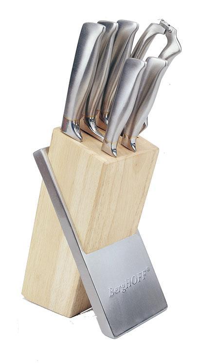 Набор ножей 7пр. NUANCE кованные в колоде, BergHOFF