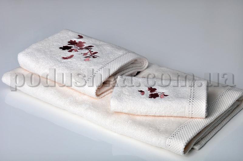 Набор махровых полотенец Pavia FANTAISIE CREAM кремовый