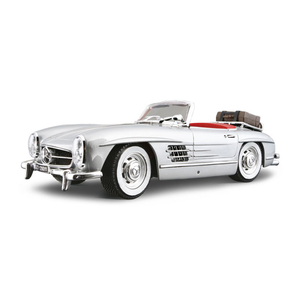 Авто-конструктор - Mercedes-Benz 300 SL Touring (1957) (серебристый, 1:18)