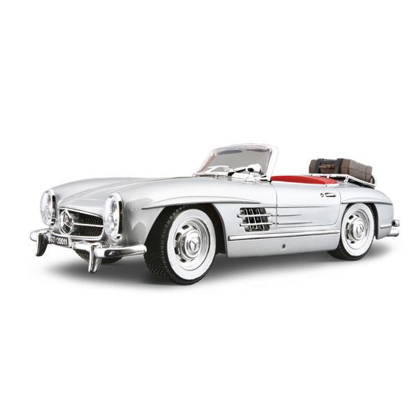 Авто-конструктор - Mercedes-Benz 300 SL Touring (1957) (серебристый, 1:18)