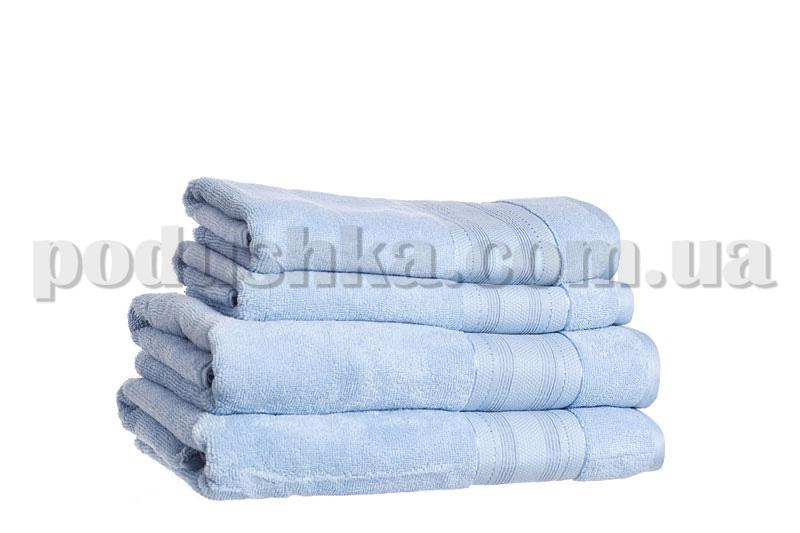 Полотенце махровое SOFT голубой