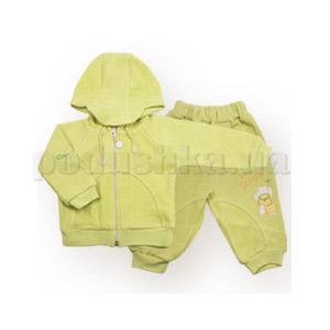 Костюмчик детский с медвежонком Бемби КС212 шардон-меланж