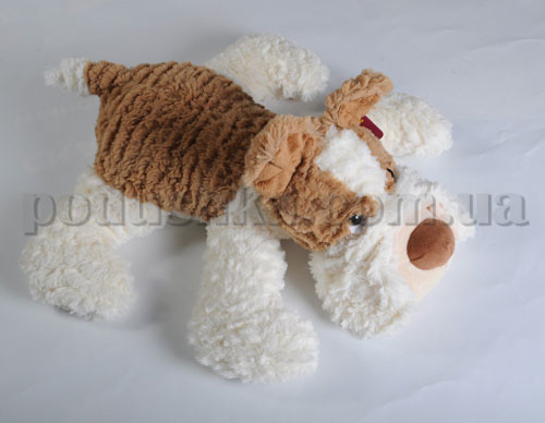 Мягкая игрушка - Собака Тобби рыжая, 40 см