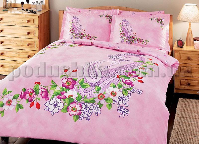 Постельное белье TAC Mayra розовый