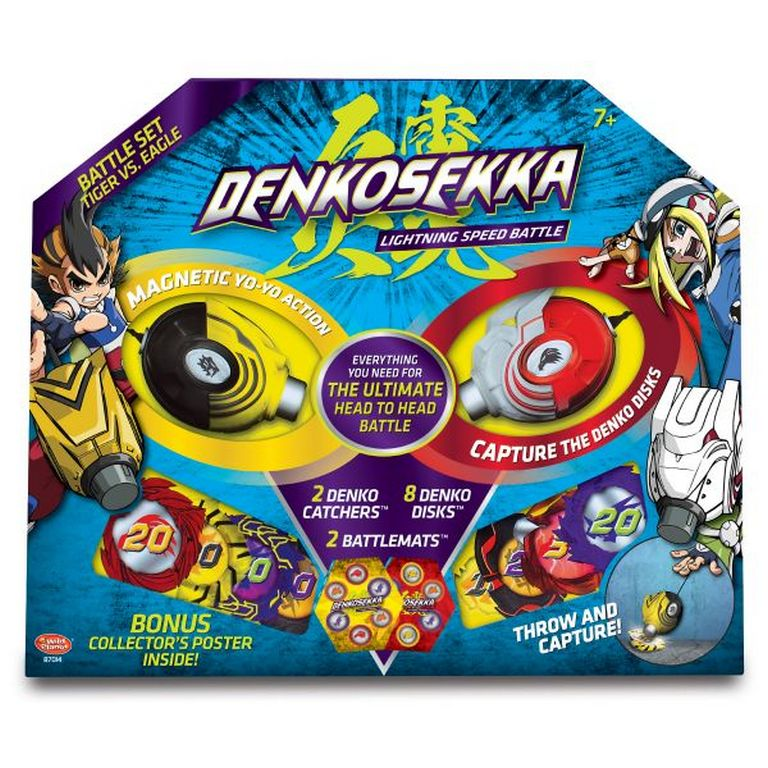 Набор для битвы Denko Sekka 87014-DS Тигр против Орла
