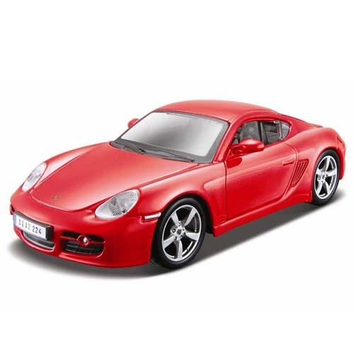 Авто-конструктор - Porsche Cayman S, красный